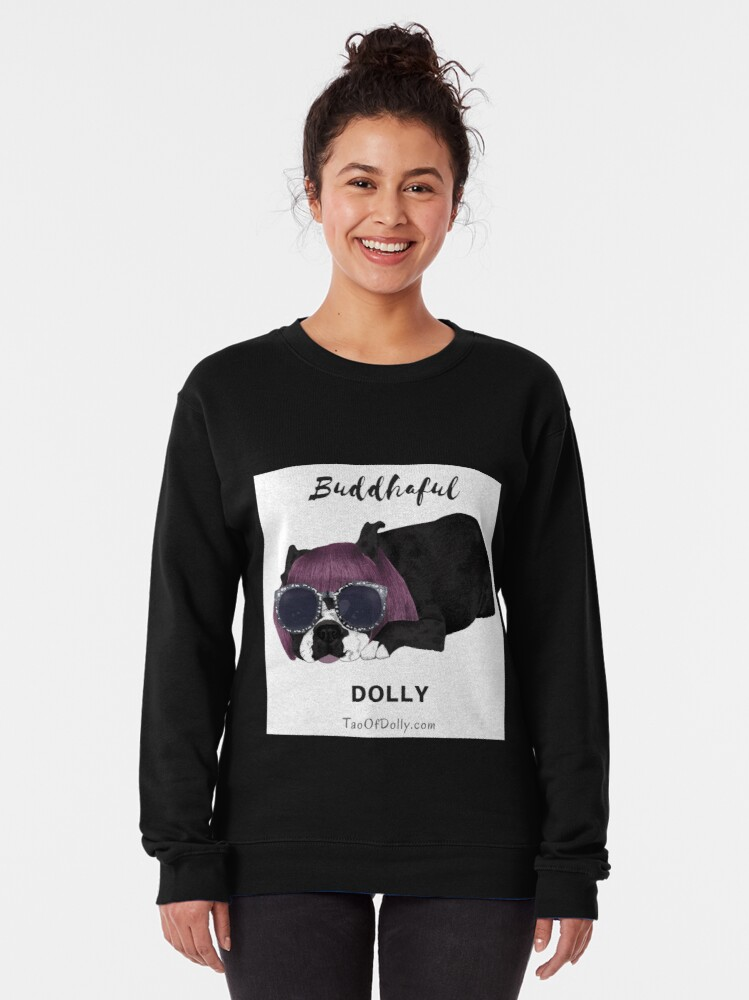 Alternate view of Buddhaful Dolly  Pullover Sweatshirt