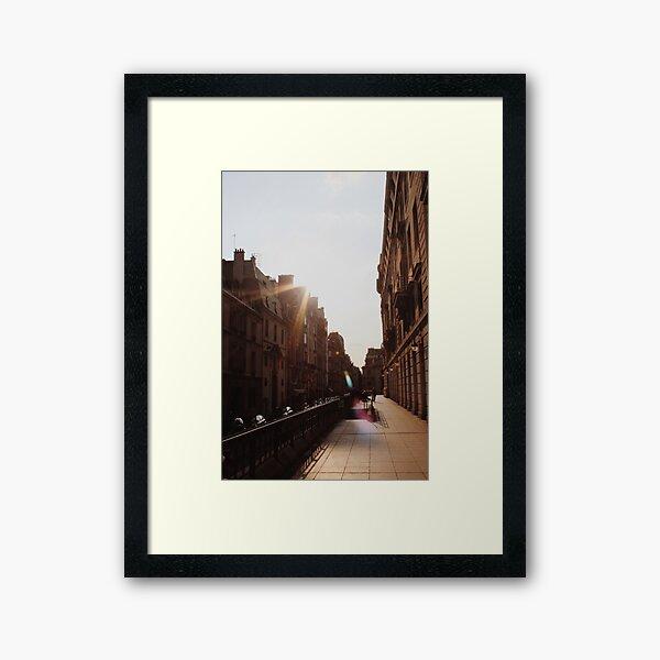 Parisian Streets Framed Art Print
