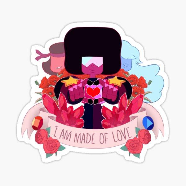 Garnet Crest Sticker