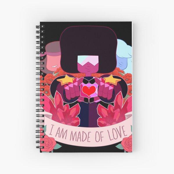 Garnet Crest Spiral Notebook