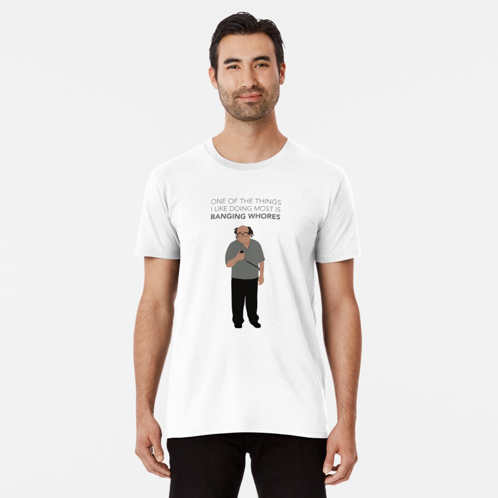 Frank Reynolds Tour Guide from Always Sunny Premium T-Shirt