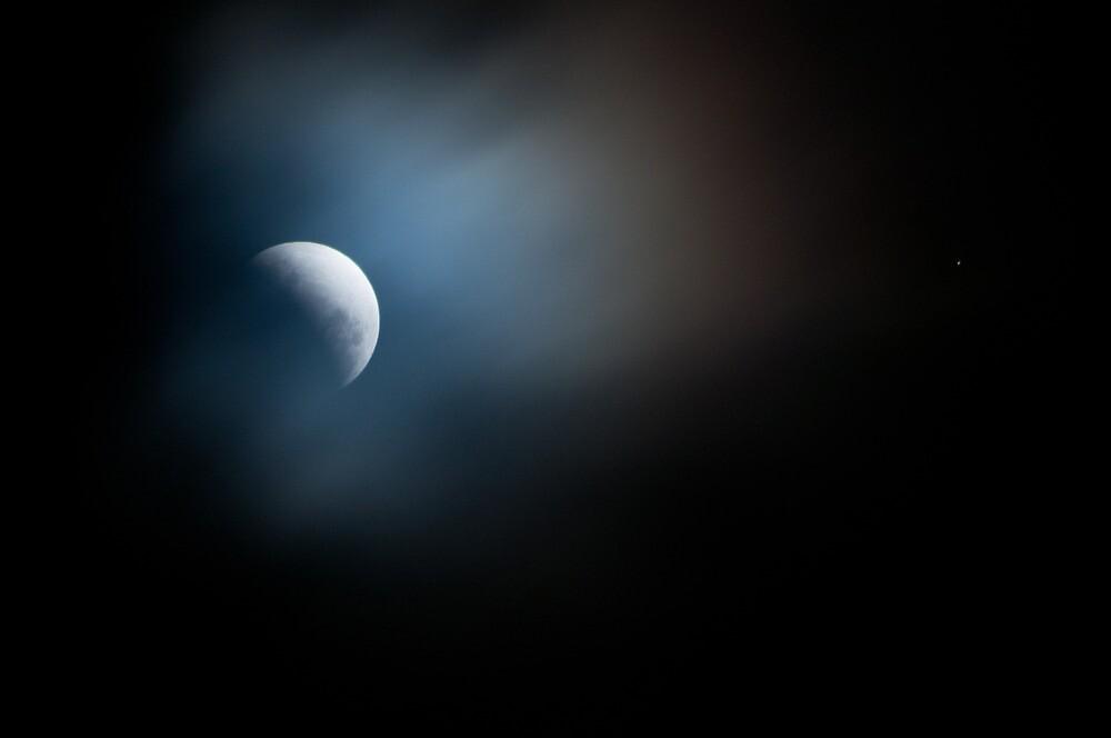 Partial Lunar Eclipse by wolfcat