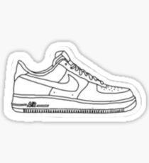 air force ones sticker Sticker