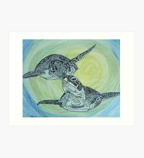 Sea Turtle Art ... t24 Art Print