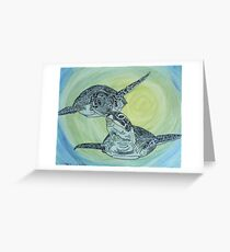 Sea Turtle Art ... t24 Greeting Card