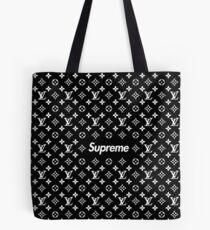 Black Santyk Tote Bag