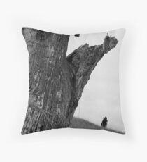 Dead Wood On The Murray Throw Pillow