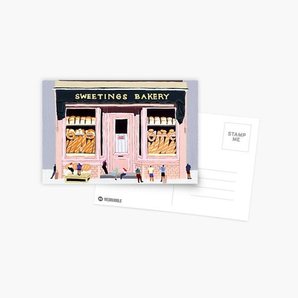 Sweeting Bakery Postcard