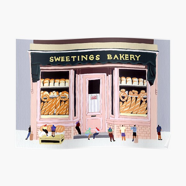 Sweeting Bakery Poster