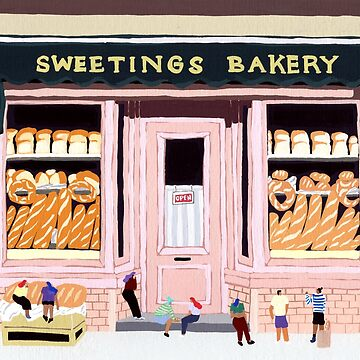 Sweeting Bakery by HeloBirdie