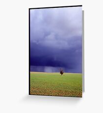Coming Rain, Mallee Greeting Card