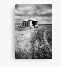 Bowhill House Ruin, South Australia Canvas Print