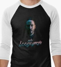 Wick's Burning. Men's Baseball ¾ T-Shirt