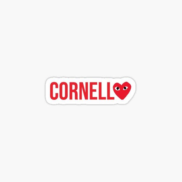 Cornell Heart Sticker