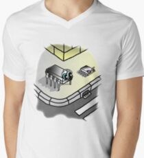 Package DIP and package SOIC in a corner V-Neck T-Shirt
