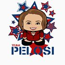 Team Pelosi Politico'bot Toy Robot by Carbon-Fibre Media