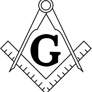 The Masonic Square and Compasses by znamenski