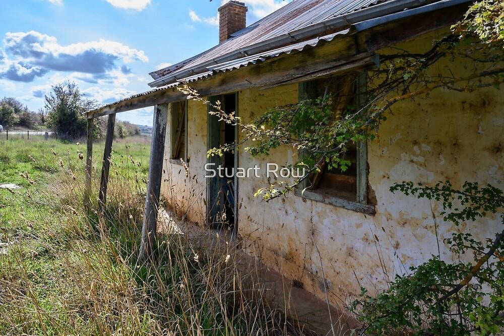 Abandoned Crookwell  Farmhouse by Stuart Row