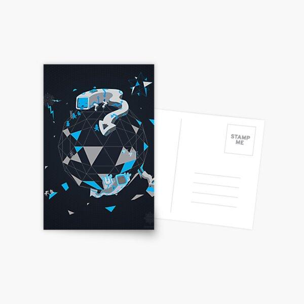 Oblique Technique Art V1.0 Postcard