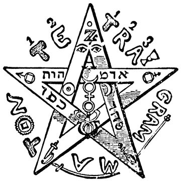 Pentagram of Eliphas Levi by znamenski