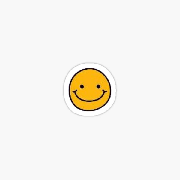 sourire Sticker