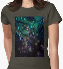 Nocturne (with Fireflies) Women's Fitted T-Shirt