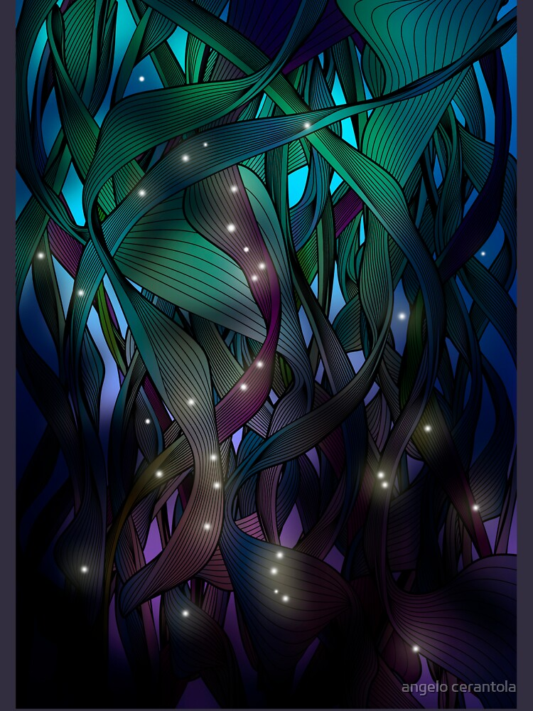 Nocturne (with Fireflies) by angelocerantola