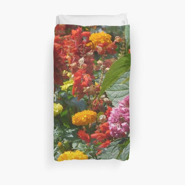 Flower Garden 114 Duvet Cover