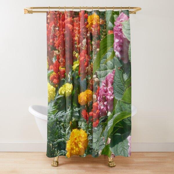 Flower Garden 114 Shower Curtain
