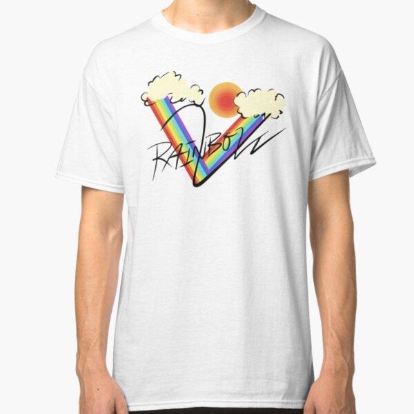 rainbowv (black text ver) Classic T-Shirt