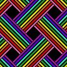 Rainbow Gradient Weave 1 by Etakeh