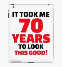 Vinilo o funda para iPad me tomó 70 años