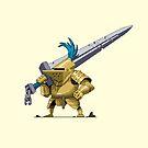 Big Sword Knight by oddmaneric