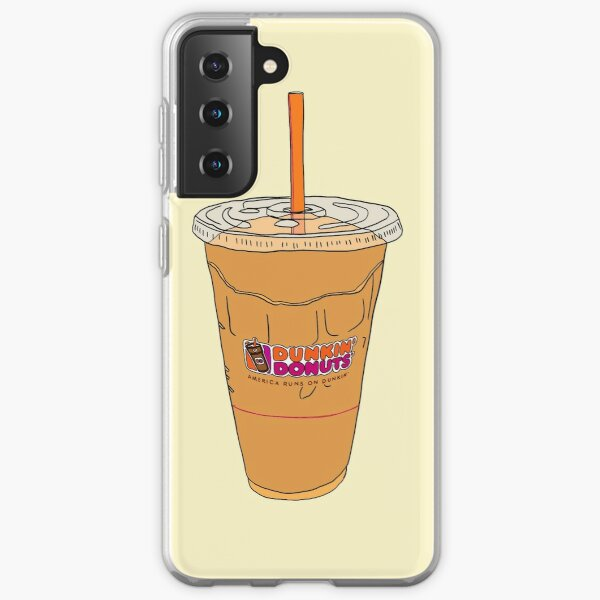 dunkin' donuts' iced coffee Samsung Galaxy Soft Case