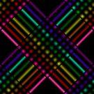 Rainbow Gradient Weave, Larger 4 by Etakeh