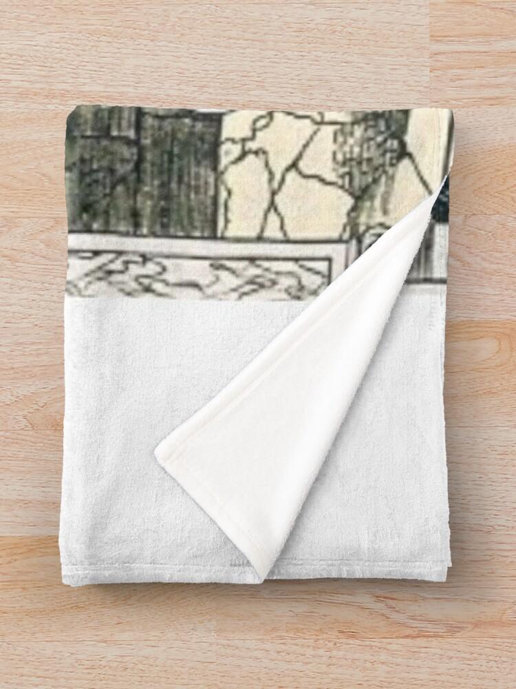 Alternate view of Tree of life (Kabbalah) #TreeofLife #Kabbalah Throw Blanket