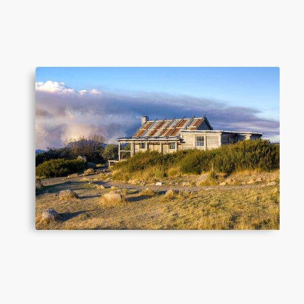 Craig's Hut, Mount Stirling, Victoria Canvas Print