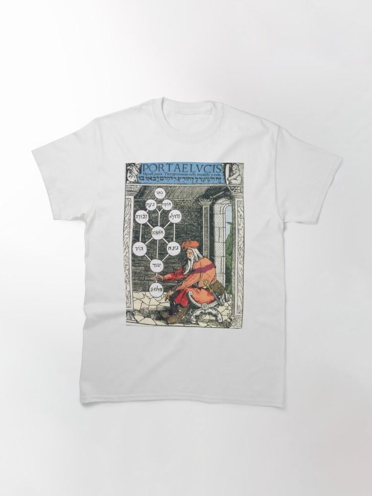 Alternate view of Tree of life (Kabbalah) #TreeofLife #Kabbalah Classic T-Shirt