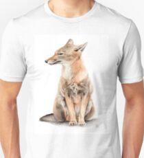Fox Watercolor  Unisex T-Shirt