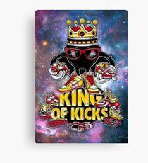 King Of Kicks Canvas Print