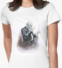 Leonard Bernstein Porträt Tailliertes T-Shirt