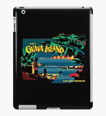 Besuchen Sie die Guaveninsel iPad-Hülle & Klebefolie
