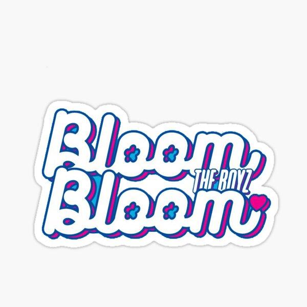 The Boyz Bloom Bloom Album Logo Sticker