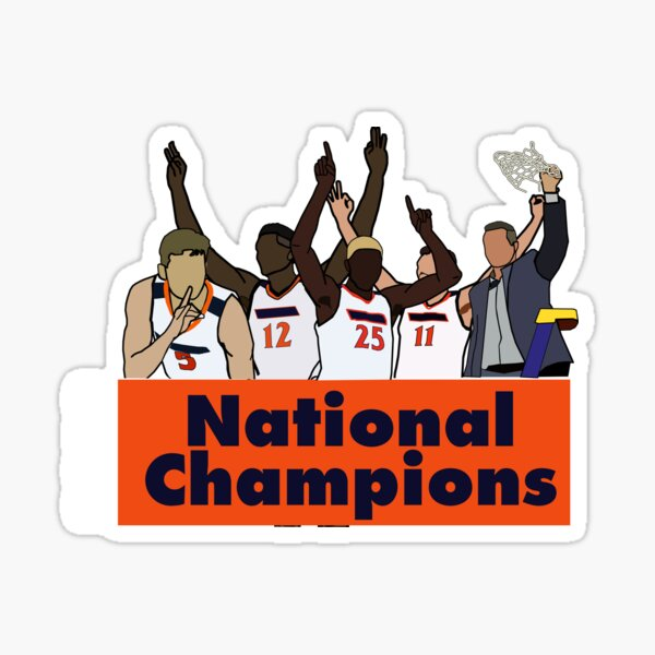 2019 National Champions Sticker