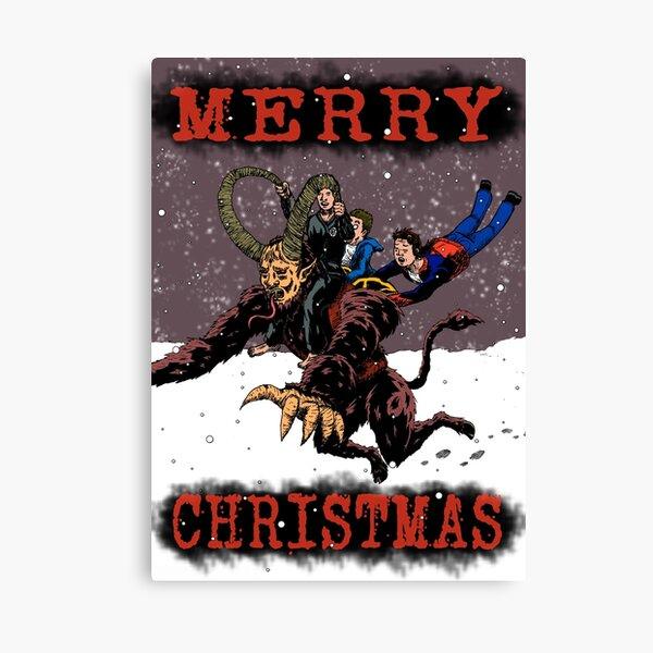 Christmas Card 2018 Canvas Print
