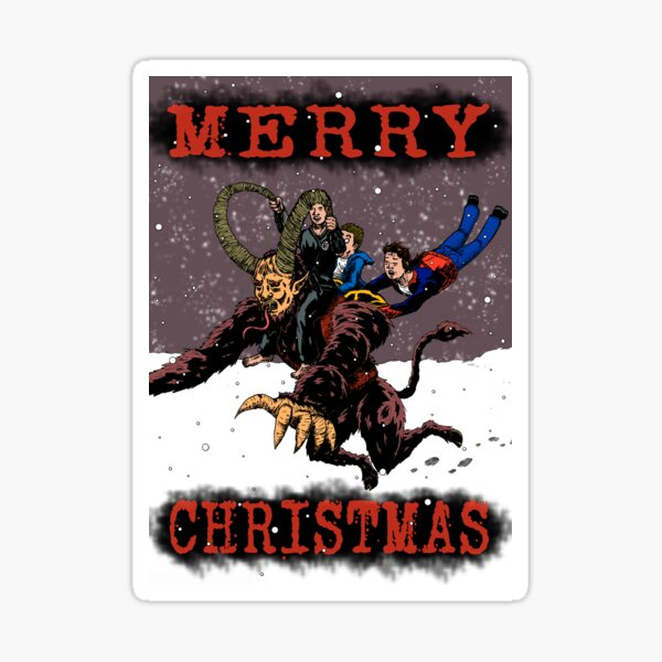 Christmas Card 2018 Sticker