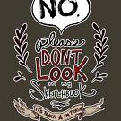 Please Don't Look in my Sketchbook by kiriska