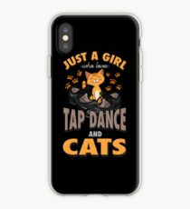 Tap Dance And Cats Girl Gift iPhone Case