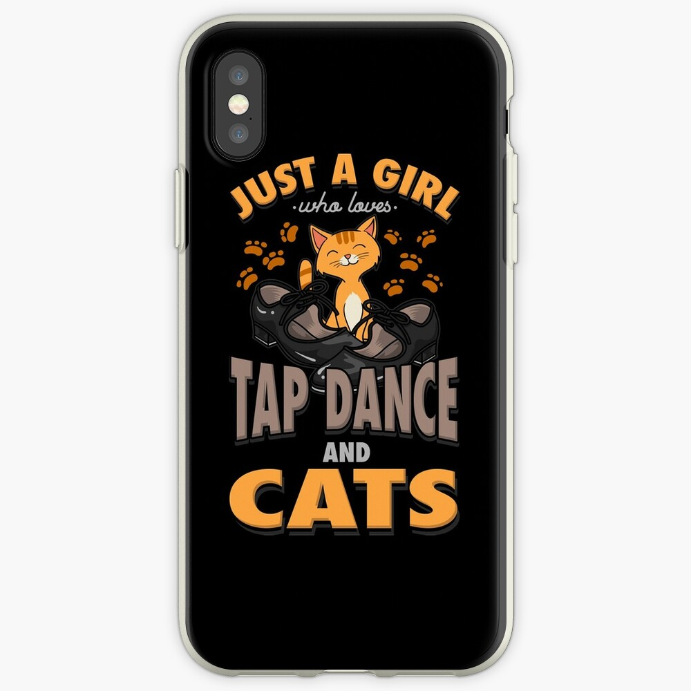 Tap Dance And Cats Girl Gift iPhone Case & Cover