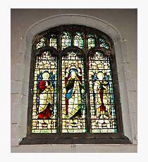 Window #1 - St Olave's Church - York. Photographic Print